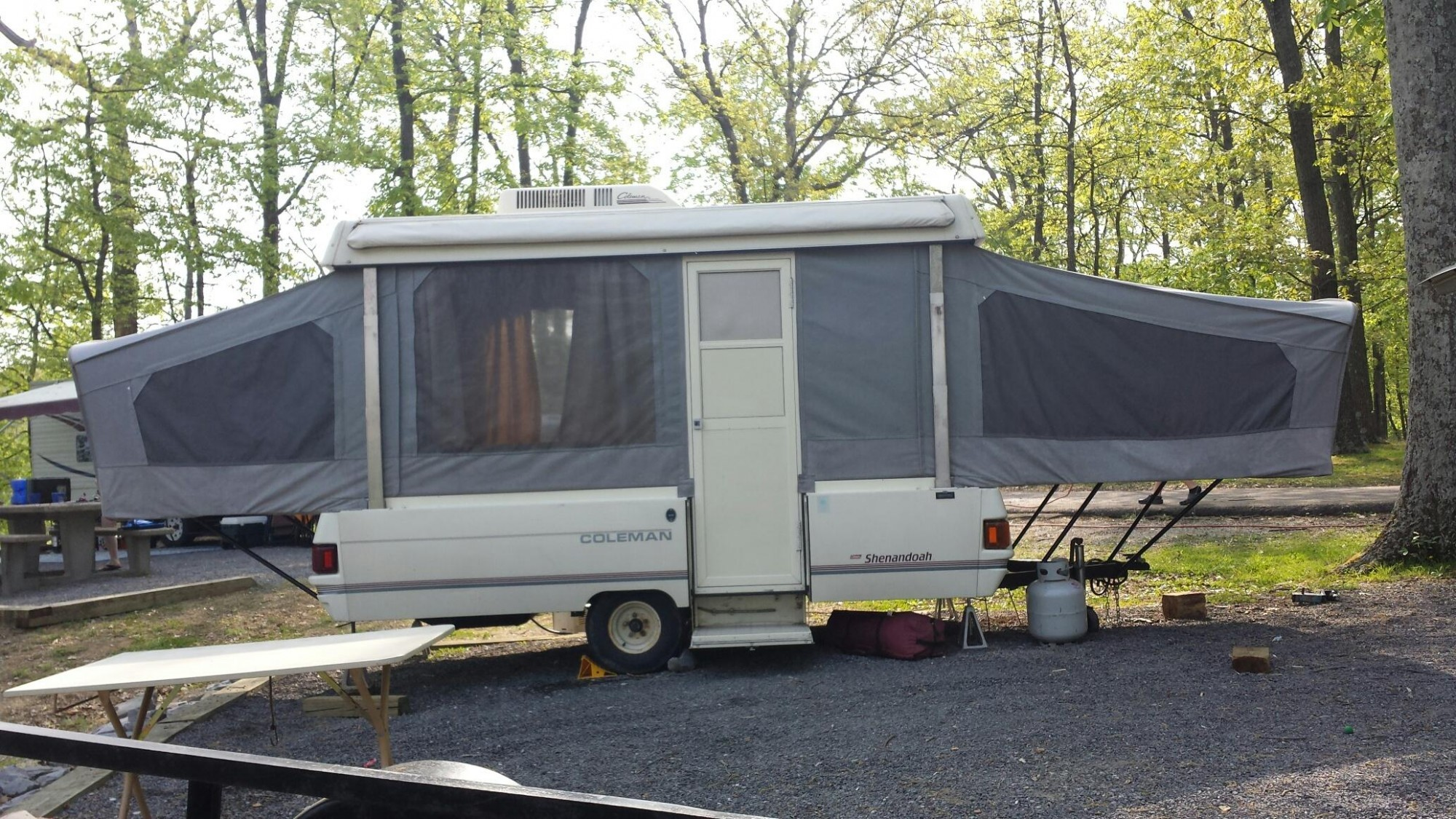 1991 COLEMAN CHESAPEAKE TENT TRAILER Price 299500 Murrysville PA Folding  Camper Sleeping Capacity 6. Album Checkout My Rig